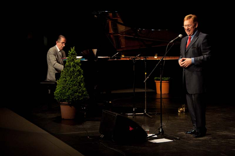 Koen Crucke en Willy Claes in concert